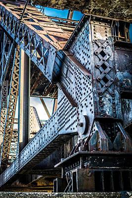 Carlos Ruiz Painting - Built By U.s. Steel by Carlos Ruiz