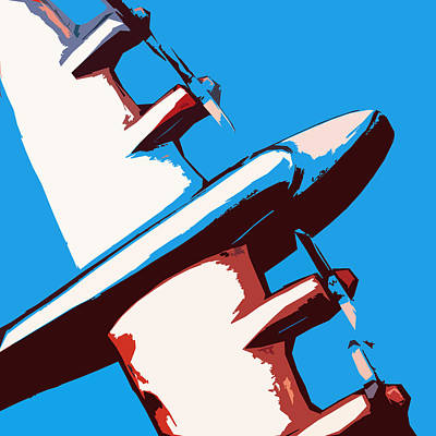 Jets Mixed Media - Bullet Plane by Slade Roberts