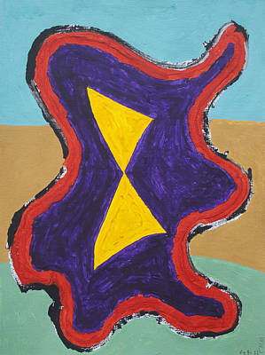 Abstract Painting - Bundle Of Energy by Stormm Bradshaw