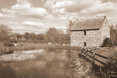 Old Mills Photograph - Bunratty Mill by John Quinn