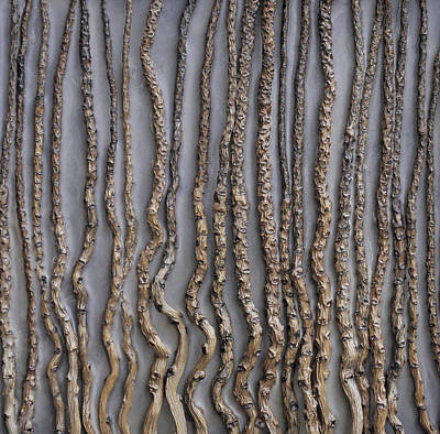 The Trees Mixed Media - Burgeon by Susie Frazier