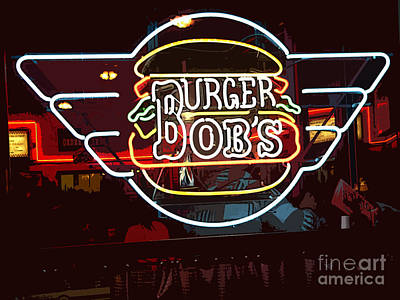 Burger Bobs Print by David Bearden