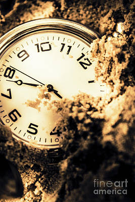 Minute Photograph - Buried By The Hands Of Time by Jorgo Photography - Wall Art Gallery