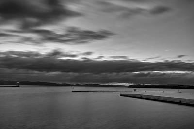 Burlington Docks Print by Mike Horvath