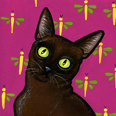 Burmese Python Painting - Burmese Best by Leanne Wilkes