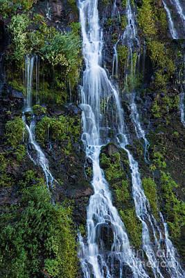 Burney Falls #8 Print by Dan Hartford