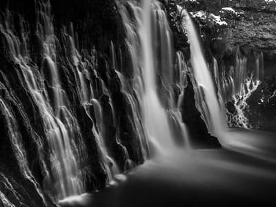 Burney Falls Print by Michele James