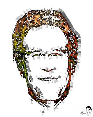 George Bush Digital Art - Bush George by Dalon Ryan