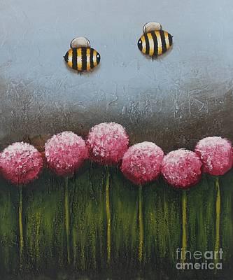 Busy Bee Original by Lucia Stewart