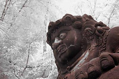 Statue Portrait Photograph - Buto by Mario Bennet