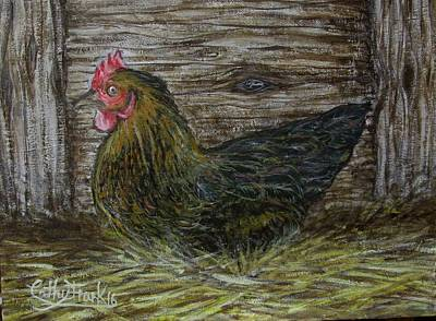 Painting - Butter The Chicken by Caterina Frank