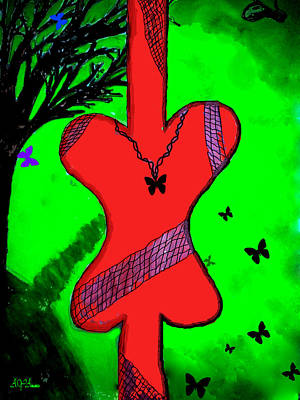 Butterfly Print by Aya Wafi