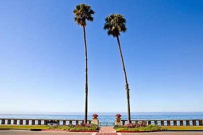 Y120907 Photograph - Butterfly Beach, Santa Barbara, California by Geri Lavrov