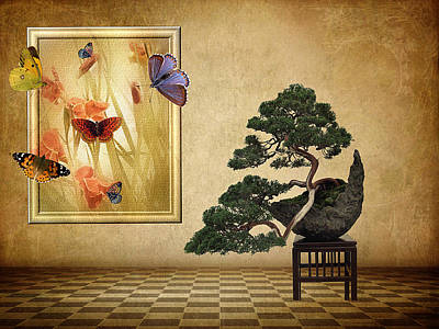 Bonsai Photograph - Butterfly Collection by Jessica Jenney