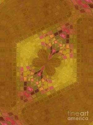 Mosaic Mixed Media - Butterfly Dreams by Sandra Gallegos