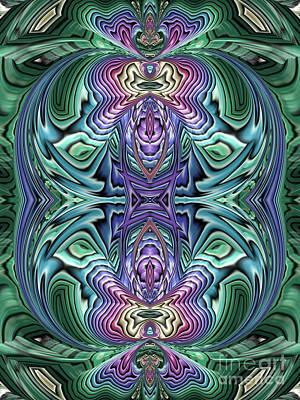 Artistic Digital Art - Butterfly Effect by John Edwards