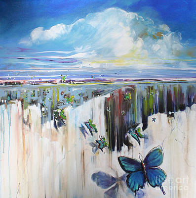 Butterfly Print by Michele Hollister - for Nancy Asbell