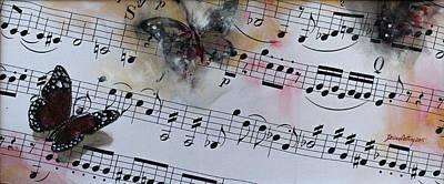 Butterfly Symphony Print by Dorina  Costras