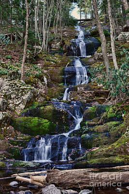 Buttermilk Photograph - Buttermilk Falls All 200 Feet by Paul Ward