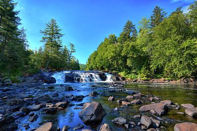 Tree Photograph - Buttermilk Falls by David Patterson