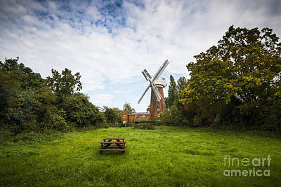 Buttrums Mill Print by Svetlana Sewell