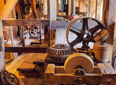 Old West Photograph - Buute Creek Mill 11 by Leland D Howard