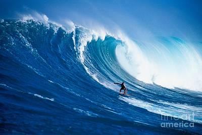 Buzzy Kerbox Surfing Big Print by Erik Aeder - Printscapes