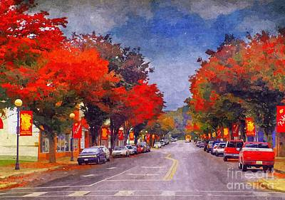 Rockbridge Photograph - Bv In The Fall by Kathy Jennings