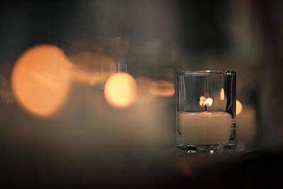Votive Photograph - By Candlelight by Rick Berk