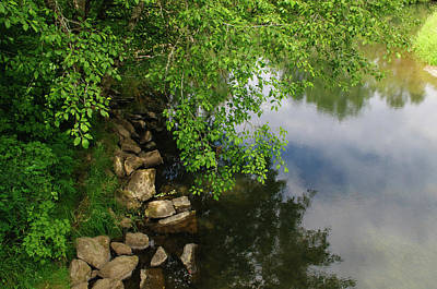 Photograph - By The Still Waters by Tikvah's Hope