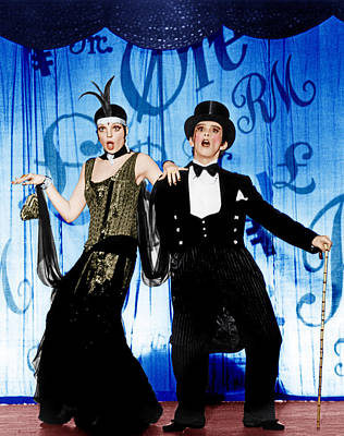 1970s Movies Photograph - Cabaret, From Left Liza Minnelli, Joel by Everett