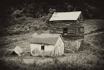 Abandoned Photograph - Cabin And Toolshed by Hugh Smith