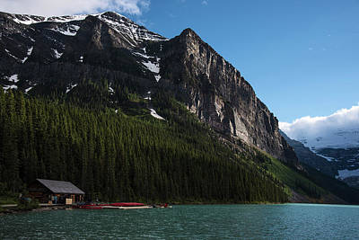 Dilli Photograph - Cabin House At Lake Louise In Banff National Park Canada by Dave Dilli