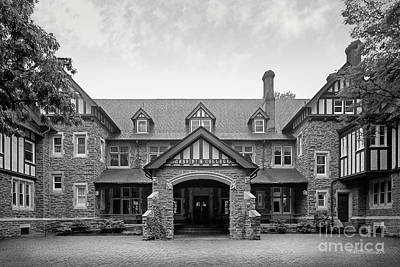Cabrini College The Mansion Print by University Icons