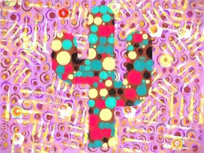 Cactus Pop Art Print by Dan Sproul