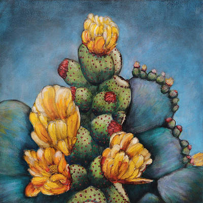 Pears Mixed Media - Cactus Toes by Patricia Pasbrig