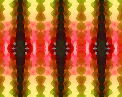 Cactus Vibrations 2 Print by Amy Vangsgard