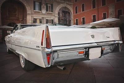 Cadillac Coupe De Ville Print by Carol Japp