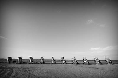 Amarillo Texas Photograph - Cadillac Ranch 4 by John Gusky