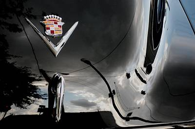 Cadillac Reflection Print by Robert Meanor