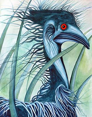 Caeruleus Original by Lesley Smitheringale