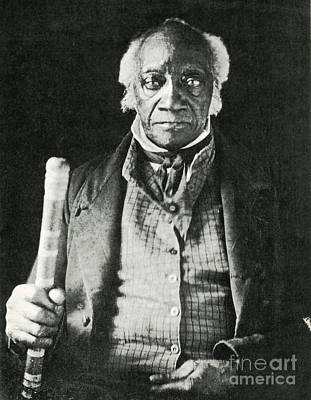 Caesar, Last Slave In New York Print by Photo Researchers