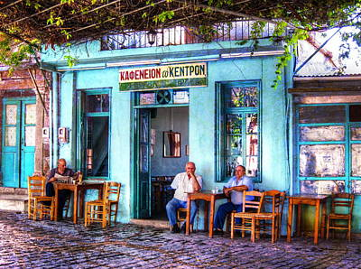 Peace Photograph - Cafe Central by Andreas Thust