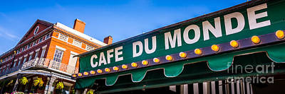 Awning Photograph - Cafe Du Monde New Orleans Picture by Paul Velgos