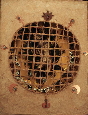 Tasting Mixed Media - Caged by Ione Citrin
