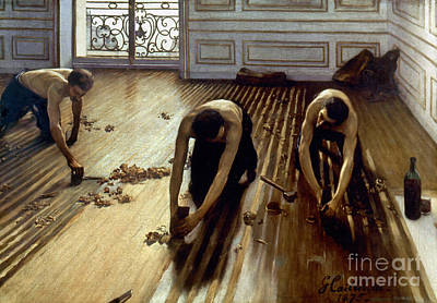 Impressionist Photograph - Caillebotte: Planers, 1875 by Granger