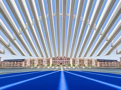 Architektur Photograph - Calatrava Congress Centre / Oviedo by Herbert A. Franke