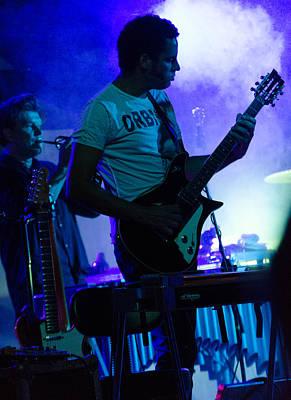 Music Photograph - Calexico Live - Jairo Zavala 7 by Andrea Mazzocchetti