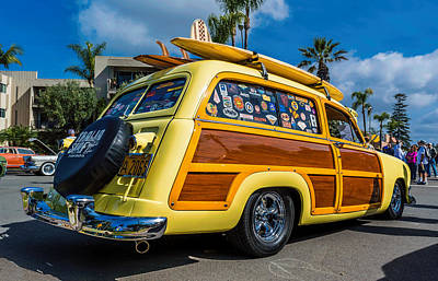 Cali Woody Print by Phil Fitzgerald