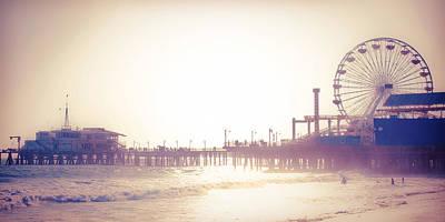 Santa Monica Digital Art - California Dreaming by Kinga Szymczyk